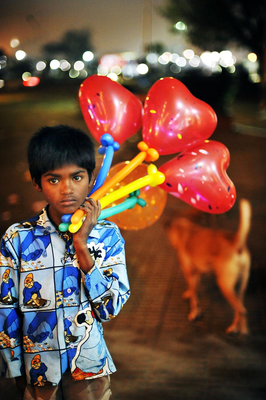 India ballongselger